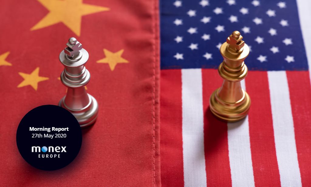 News of potential US sanctions on China weighs on risk sentiment