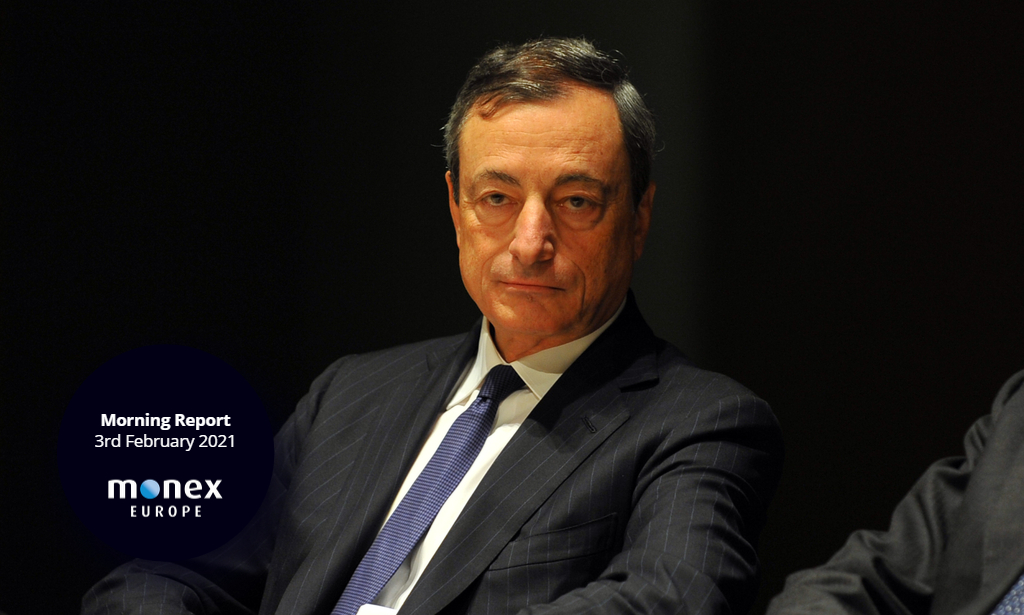 Focus returns to Italy as former ECB President Mario Draghi tipped to be next Italian Prime Minister