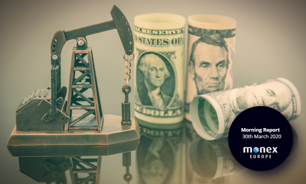 Crude oil plunges as US dollar pares back last week's losses