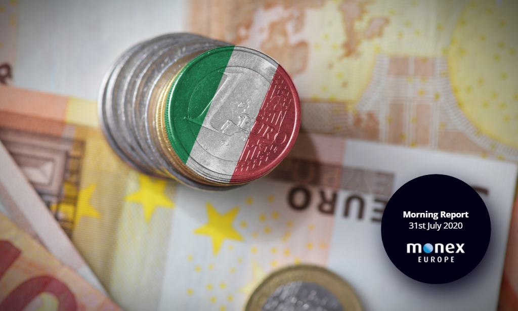 Italy and eurozone GDP in scope this morning as EURUSD cracks fresh highs