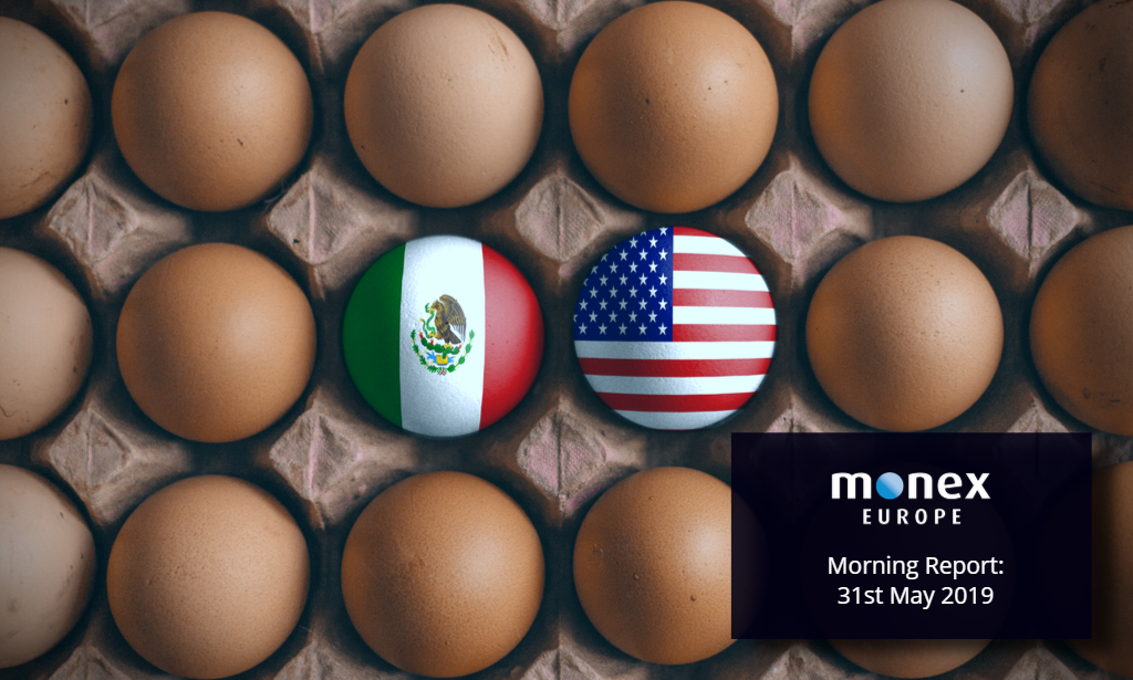 Trump Mexican tariff Tweets boost greenback