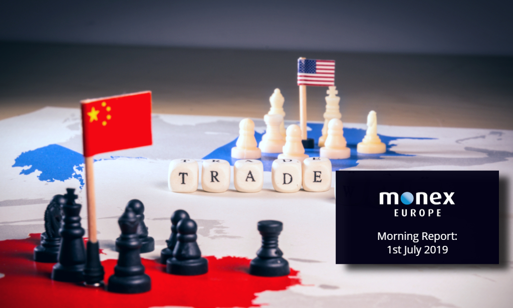 Trade truce struck; USD and EMFX throw a party