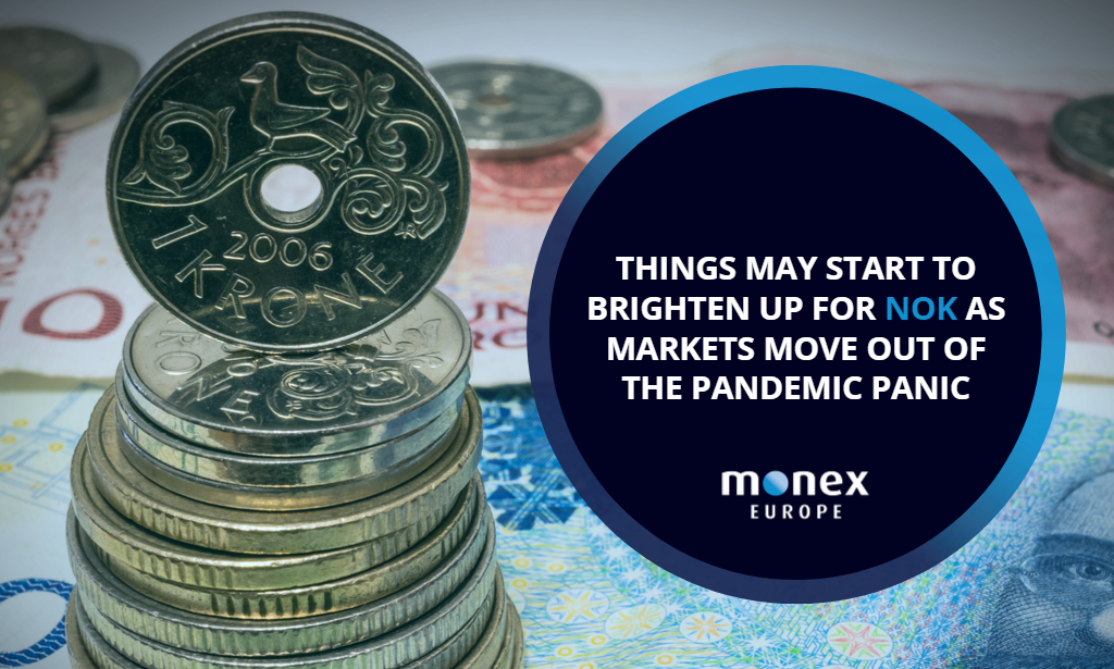 Things may start to brighten up for NOK as markets move out of the pandemic panic