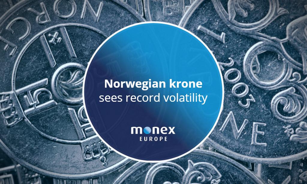Norwegian krone sees record volatility