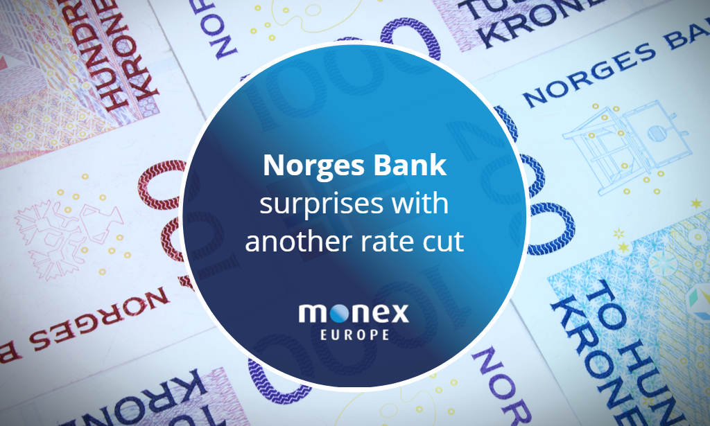 Norges Bank surprises with another rate cut