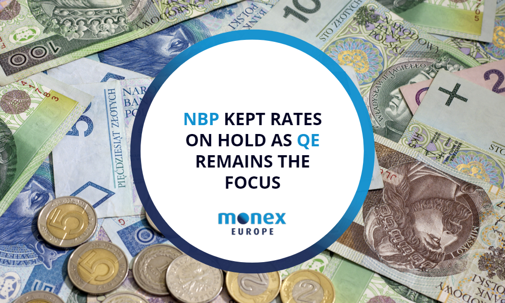 NBP kept rates on hold as QE remains the focus
