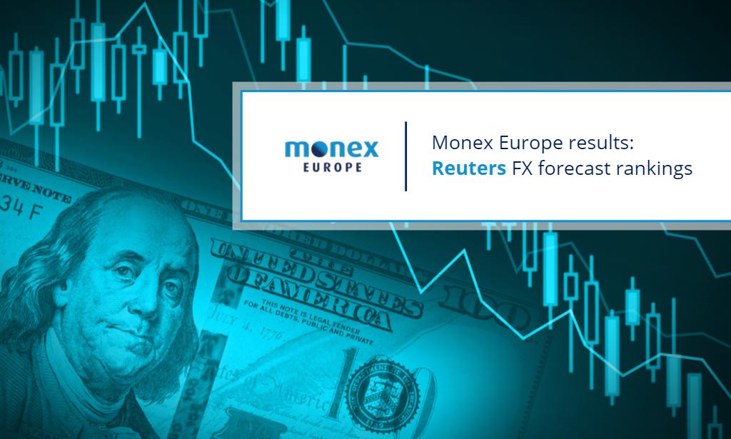Monex's near-term forecast rankings improve as dovish Fed extends dollar decline