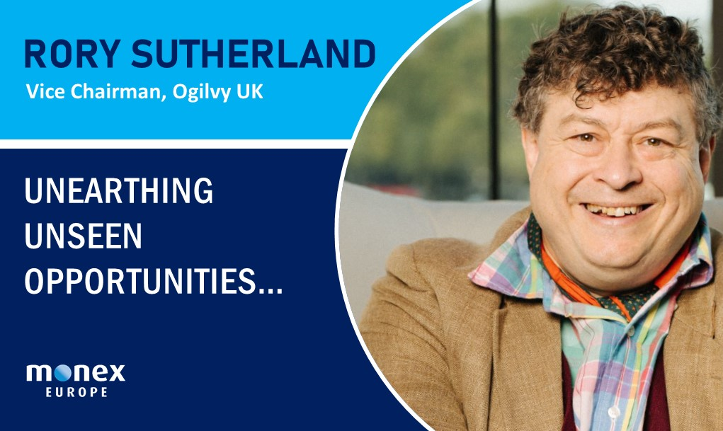 Rory Sutherland talks Behavioural Science and Rational Thinking with Monex