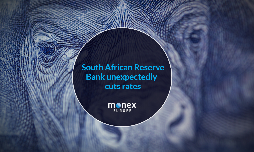 South African Reserve Bank unexpectedly cuts rates