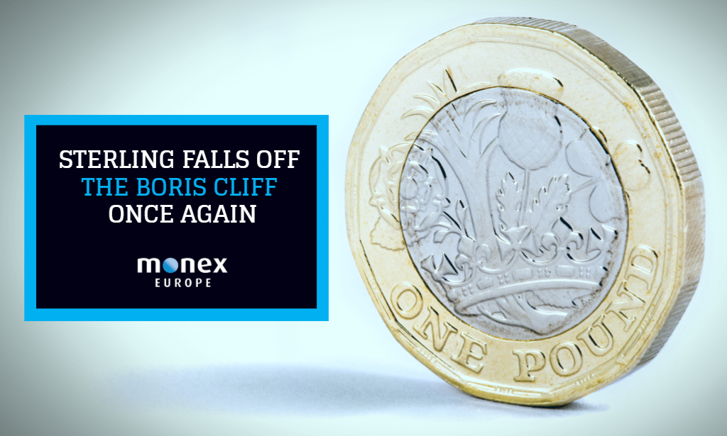 Sterling falls off the Boris Cliff once again