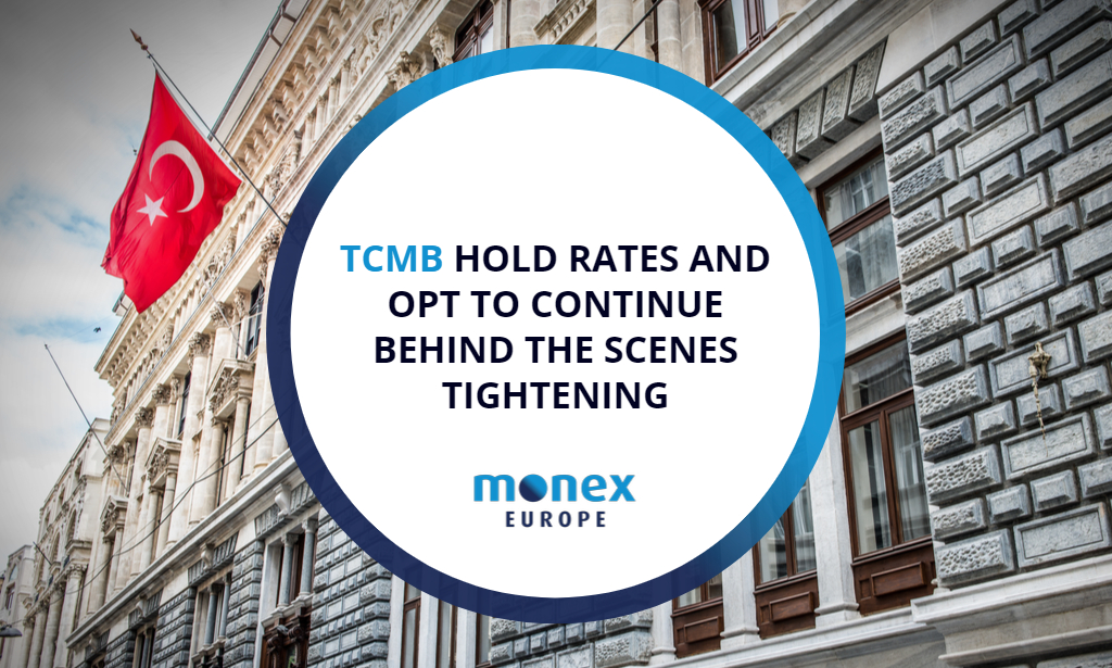 TCMB hold rates and opt to continue behind the scenes tightening