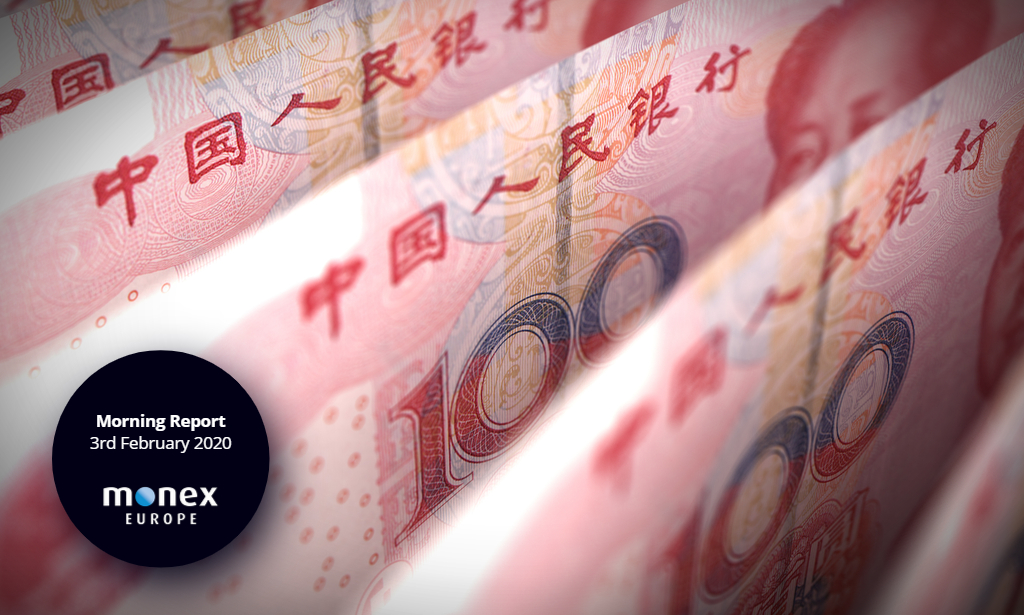 CNY weakens but no signs of collapse