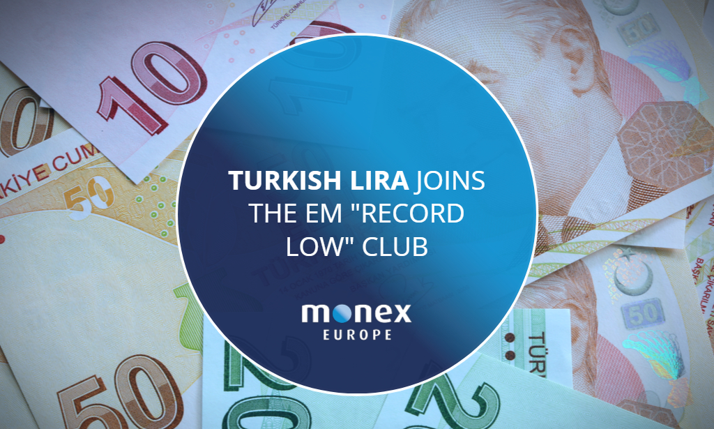 "Turkish Lira joins the EM ""record low"" club"