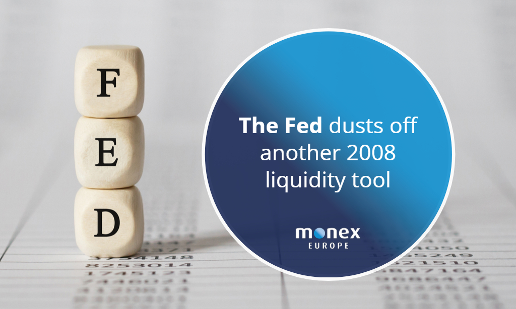 The Fed dusts off another 2008 liquidity tool