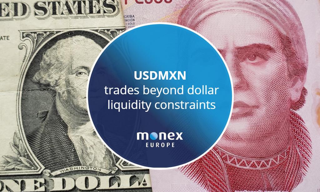 USDMXN trades beyond dollar liquidity constraints
