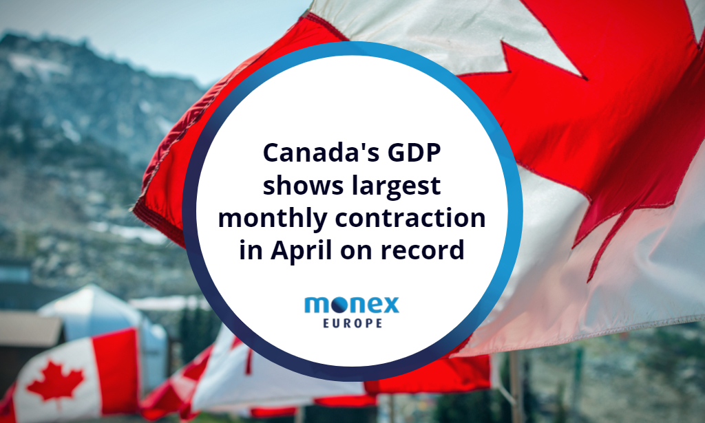 Canada GDP: The worst economic monthly contraction on record