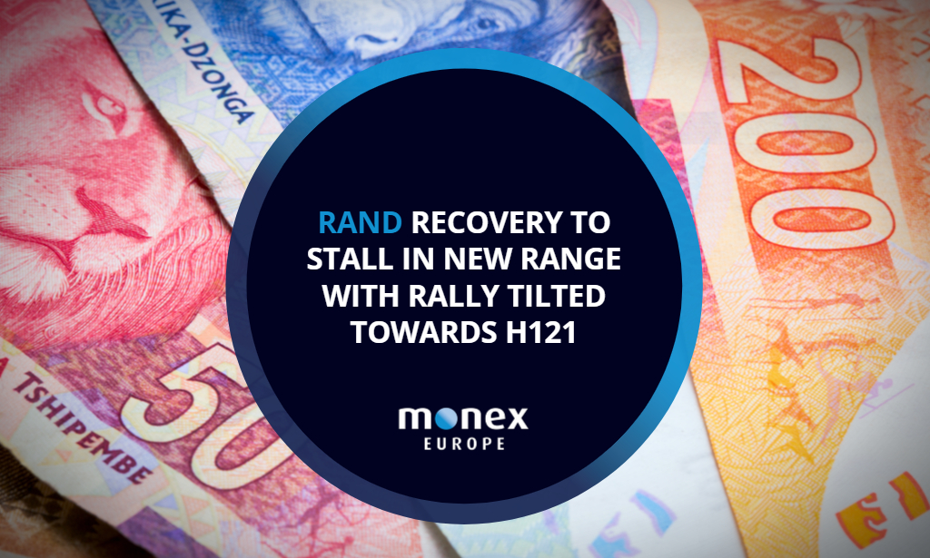 Rand recovery to stall in new range with rally tilted towards H121
