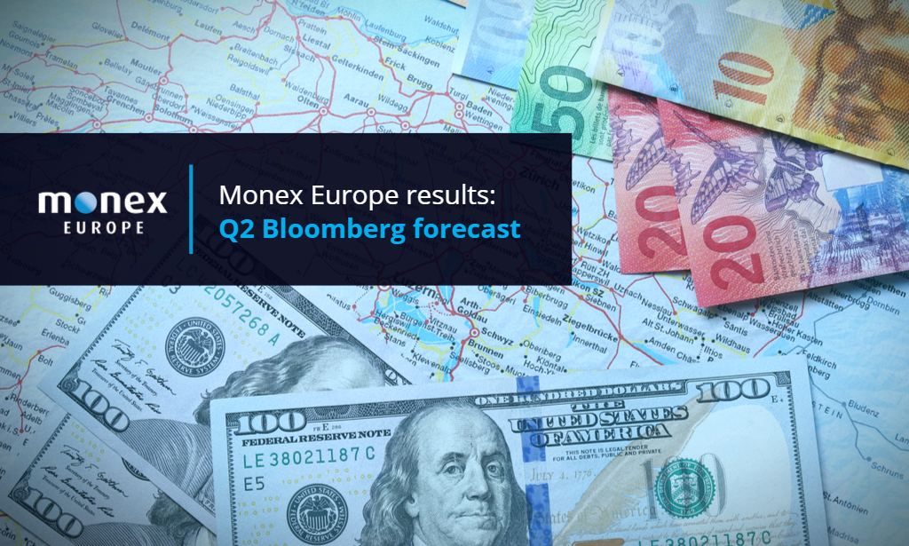 Monex Europe rank high in Q2 Bloomberg forecast