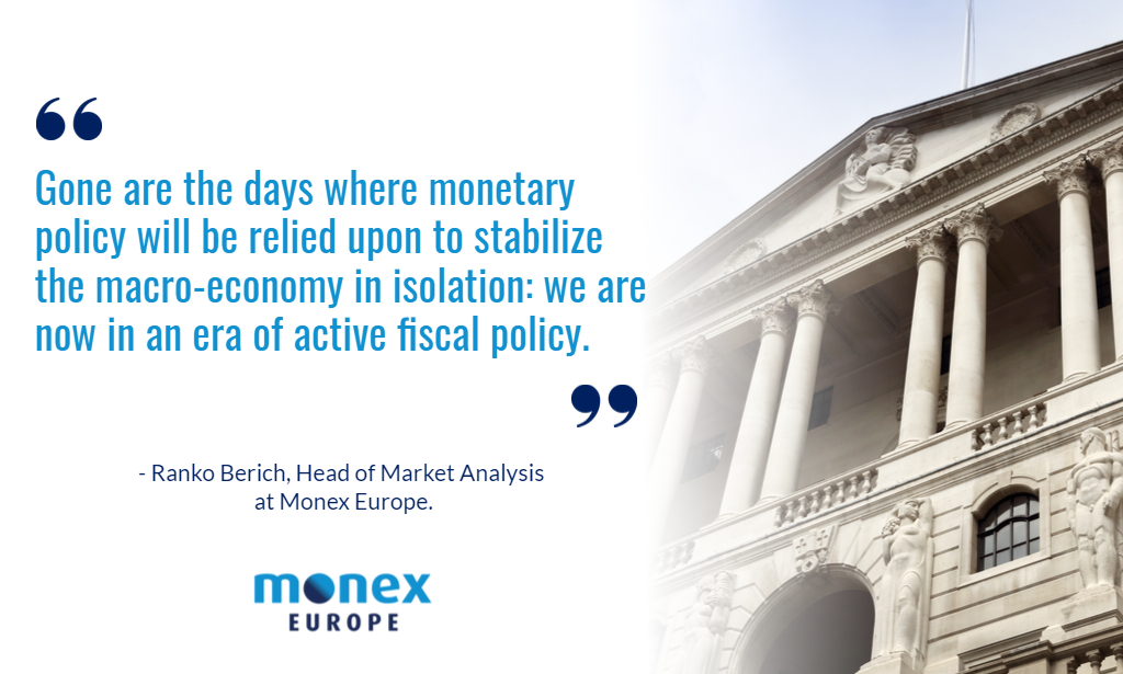 BoE sends message of policy synchronization with Treasury, setting stage for historic budget