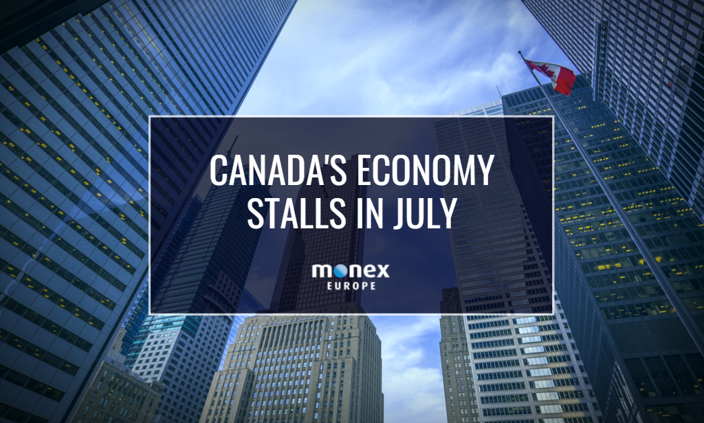 Canada's economy stalls in July