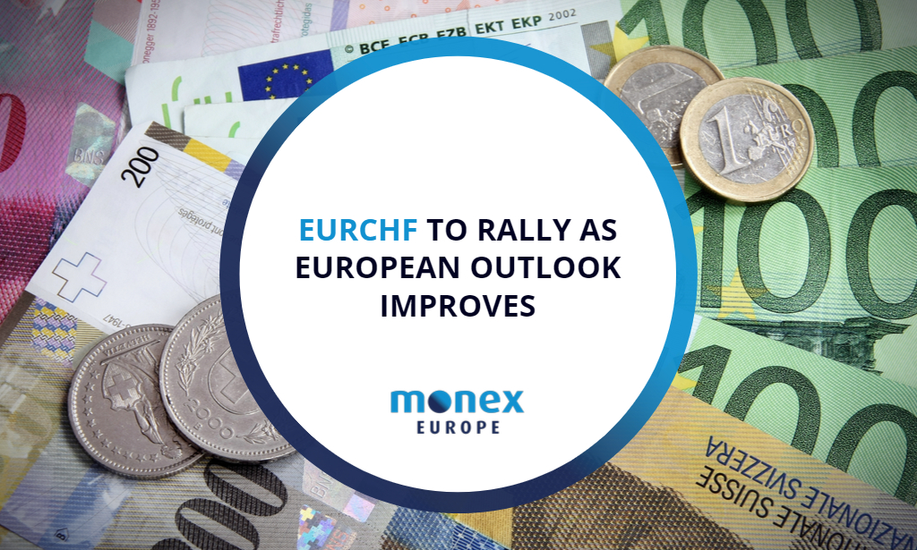 EURCHF to rally as European outlook improves