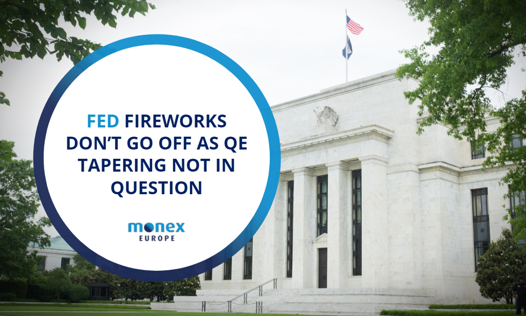 Fed fireworks don't go off as QE tapering not in question
