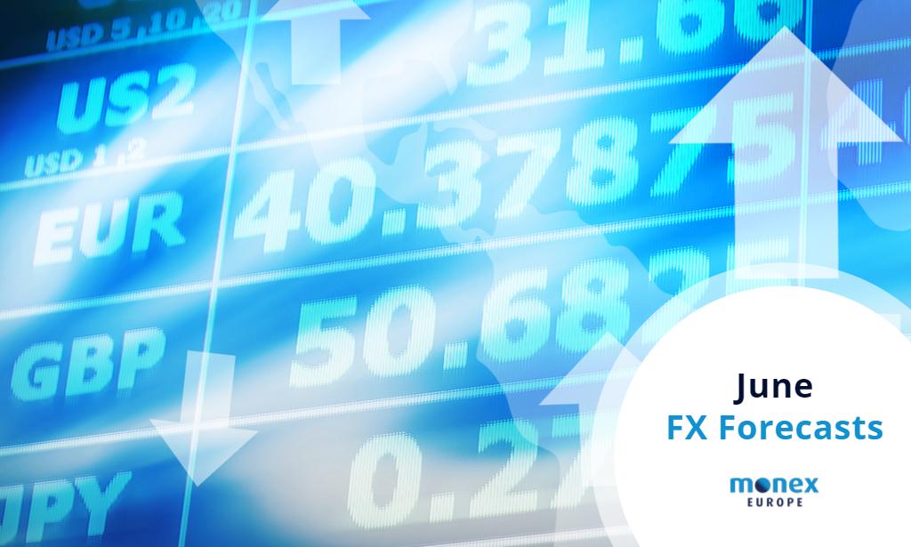 Monex Europe June 2021 FX Forecasts