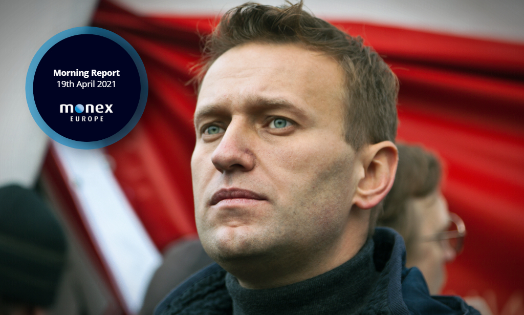 US Russia tensions watched by markets as Navalny's condition deteriorates