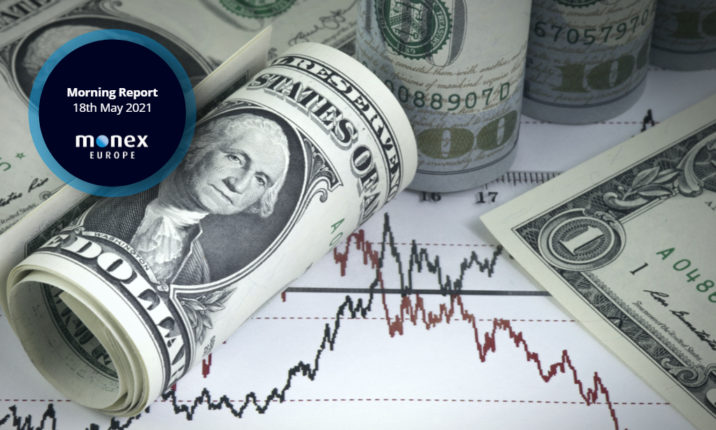 Dollar declines to near four-month low with commodity currencies soaring