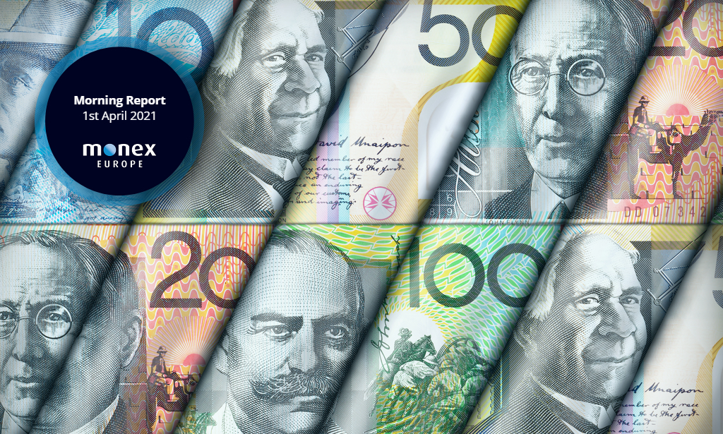 Aussie dollar drops to fresh 2021 low after stops triggered