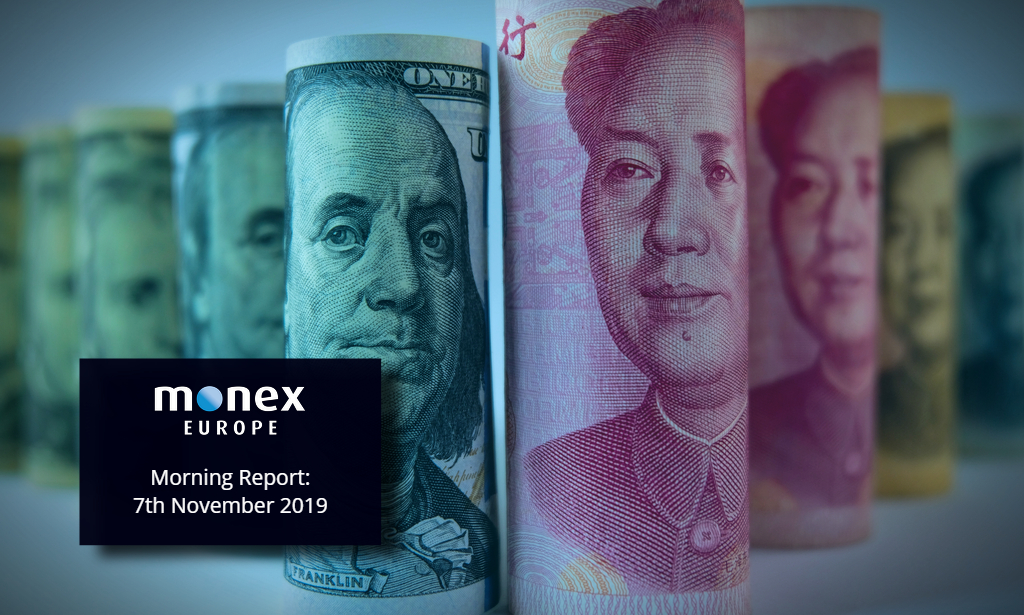 G10 sat flat yesterday but US-China headlines set to drive risk rally today