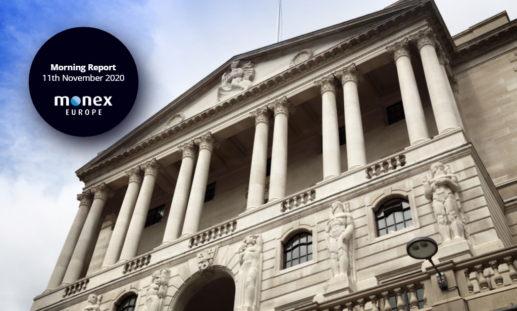 Sterling outperforms as expectations of negative rates from the BoE are reversed