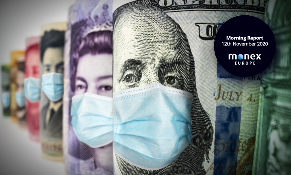 Rising virus cases support the dollar while havens go bid