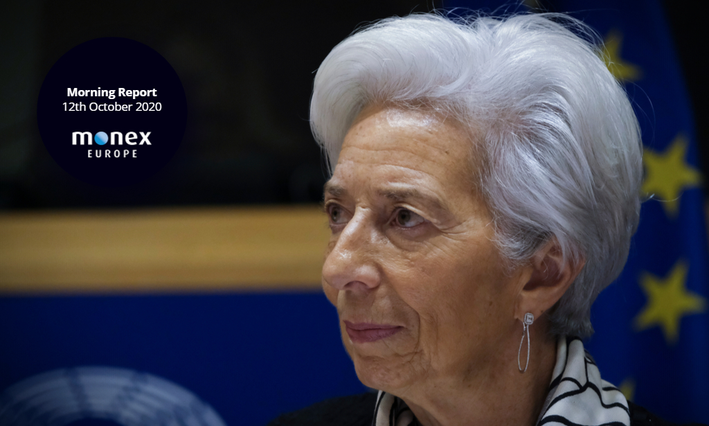 Lagarde takes stage at IMF event after a weekend of ECB stimulus talks