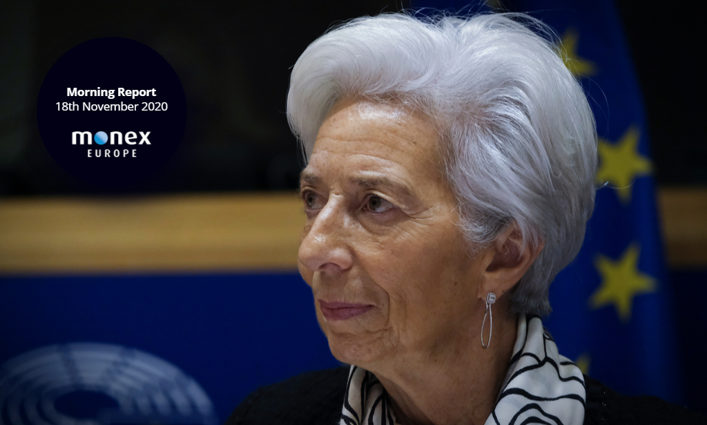 Vaccine optimism appears to be no game-changer for ECB's Lagarde