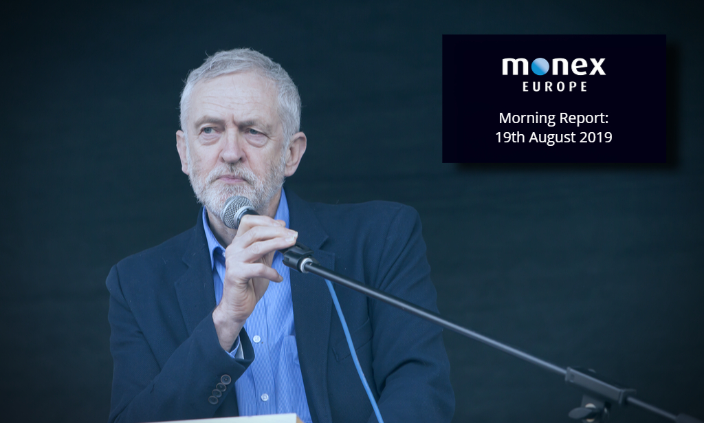 With Johnson away, it's Corbyn's time to play