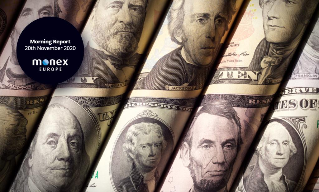 Dollar recedes on renewed fiscal stimulus hopes