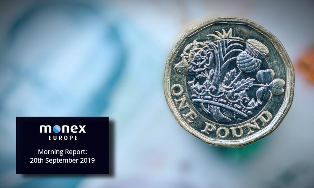 Sterling hits highs following Juncker optimism