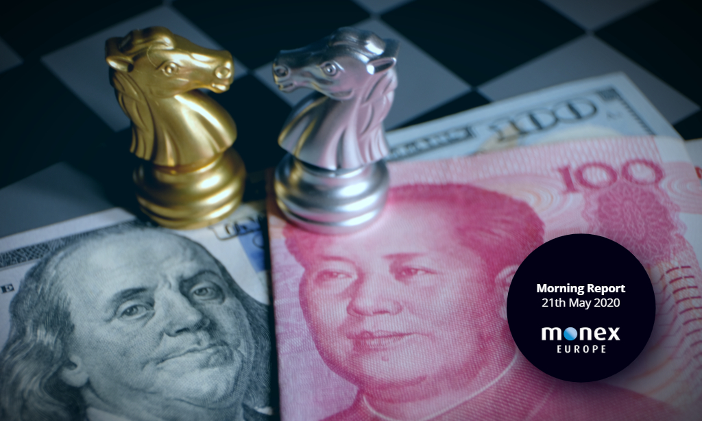 USD bounces back as US-China tensions continue to rise