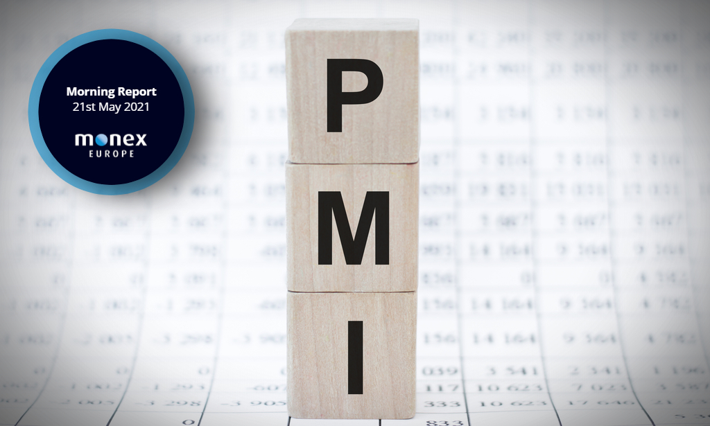 Markets struggle to price current conditions as PMIs flow in across Europe