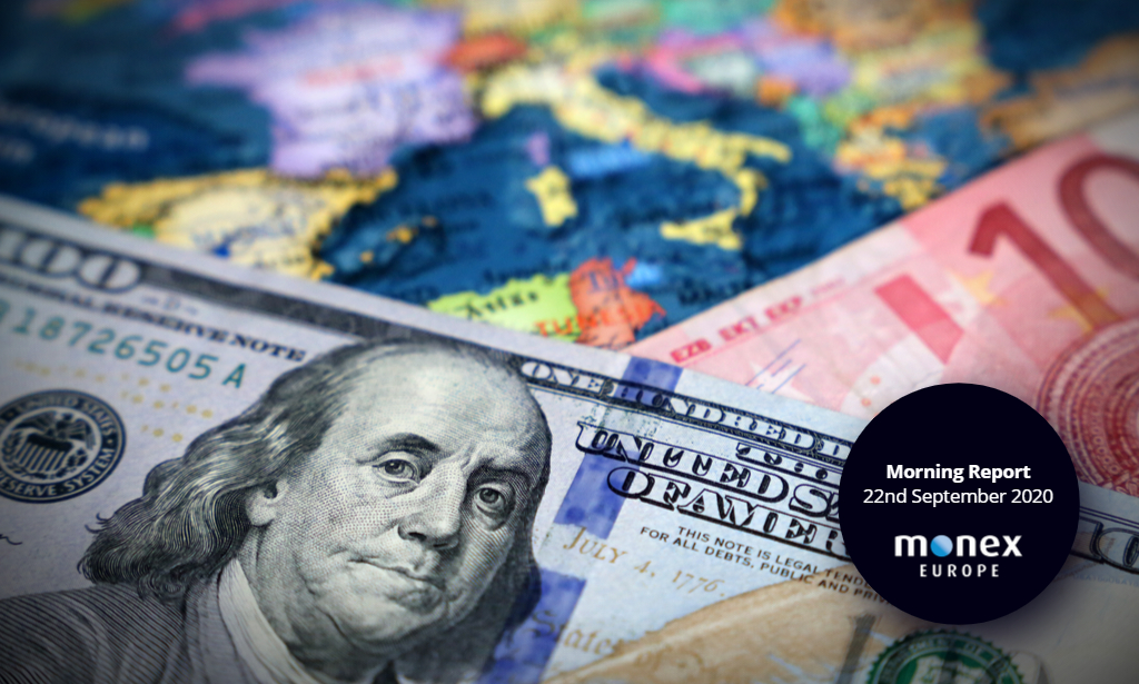 Dollar bounces back as Europe sets for a second wave
