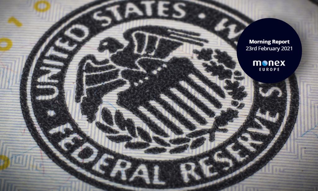 ECB turns focus to rising bond yields while markets eye Powell's testimony