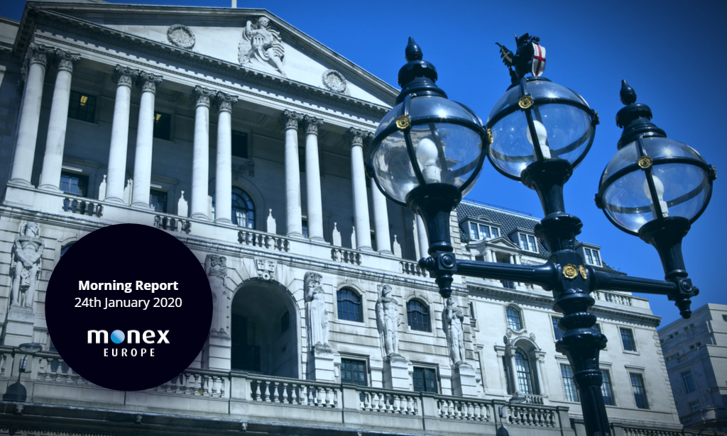 Bank of England bets rest on today's PMI releases