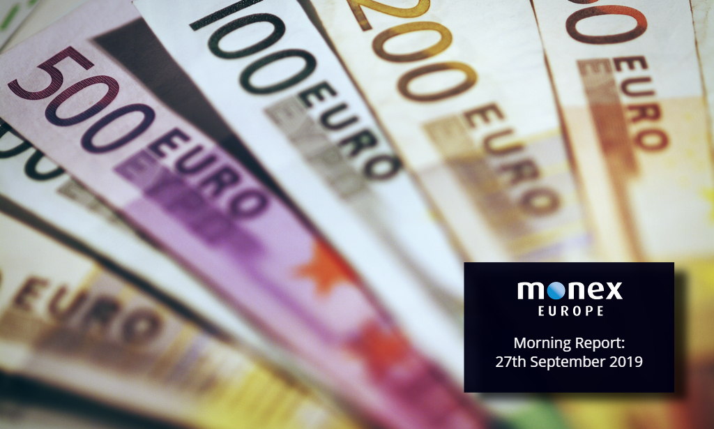 Euro hits a 2-year low as fiscal stimulus measures announced