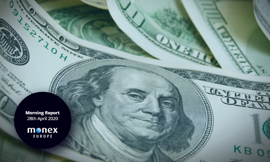 Markets consider re-opening of economies as USD softens
