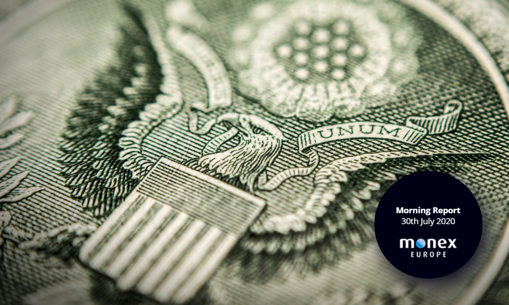 Dollar bounces back post-FOMC with bleak GDP readings ahead