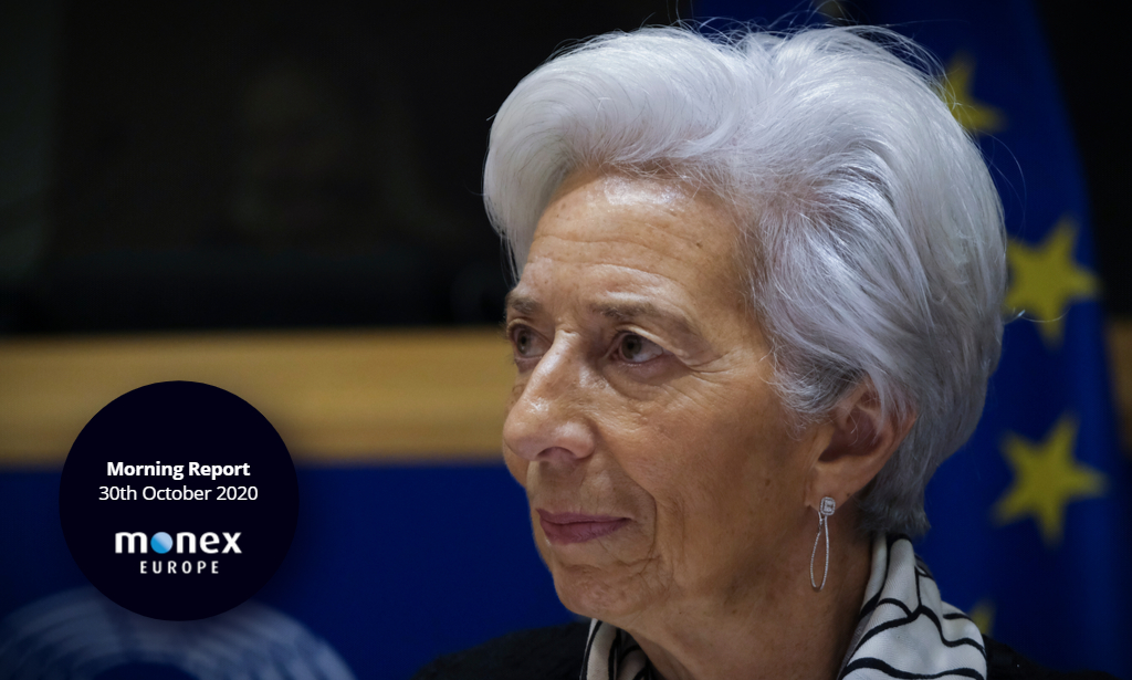 Euro tumbles as Ms Lagarde opens door to ramped up stimulus