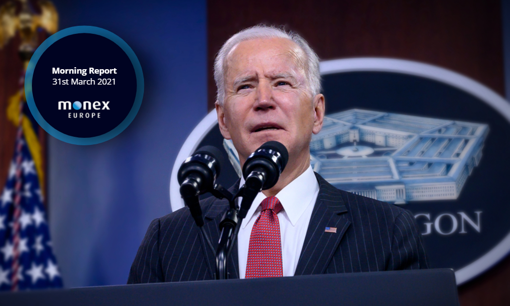 Details of Biden's infrastructure proposal in focus for markets today
