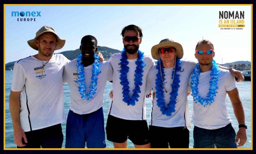 Team Monex battle their way to victory in NOMAN's Barcelona – Ibiza Ocean rowing race