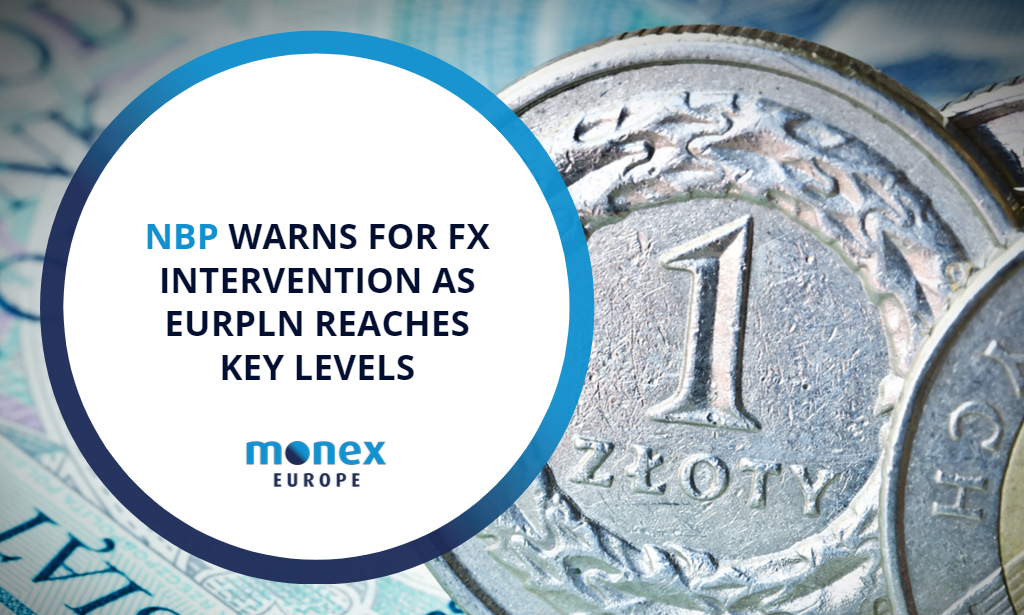 National Bank of Poland warns for FX intervention as EURPLN reaches key levels